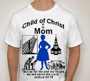 Mom-Woman-white ss shirt