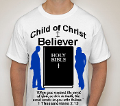 Believer-Man-white ss shirt