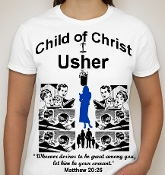 Usher-Woman-white ss shirt