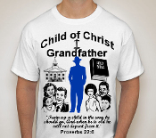 Grandfather-Man-white ss shirt