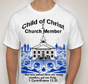 Church Member-Man-white ss shirt