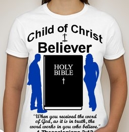 Believer-Woman-white ss shirt